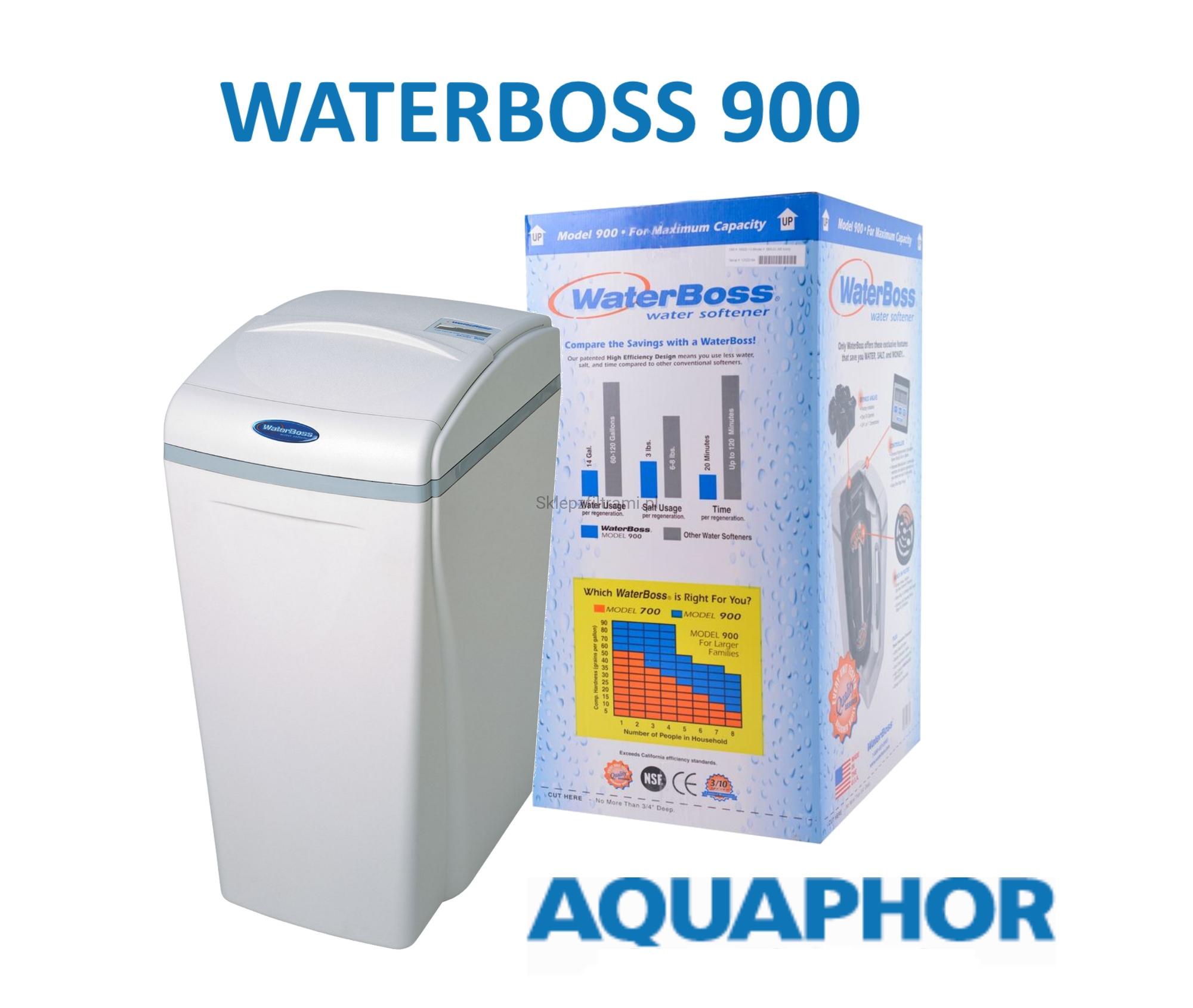 Aquaphor WaterBoss 900 za omekšavanje vode u čitavom kućanstvu