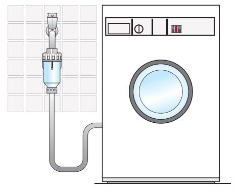 Filter za perilice Dosal s polifosfatnim kristalima